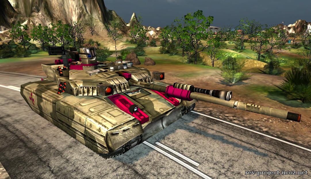 Generals2: Revolution Project - Архив материалов Т 84 БМ Оплот
